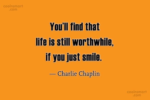 Quote: You'll find that life is still worthwhile,...