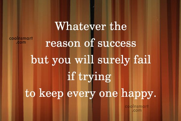 Quote: Whatever the reason of success but you...