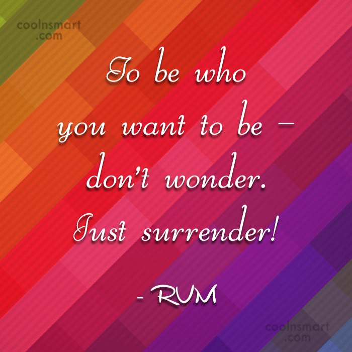 Images Quote: To be who you want to be...