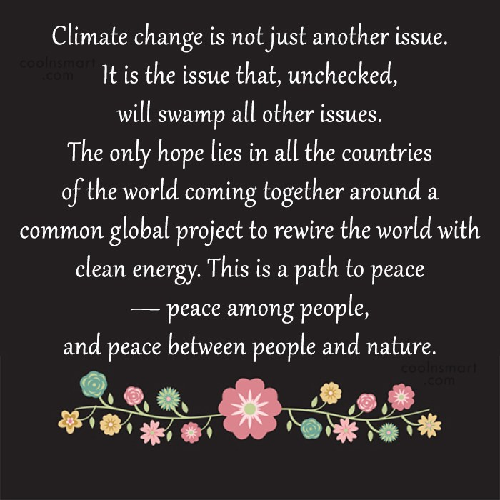 Quotes About Global Warming Images Pictures CoolNSmart Cool Global Warming Quotes