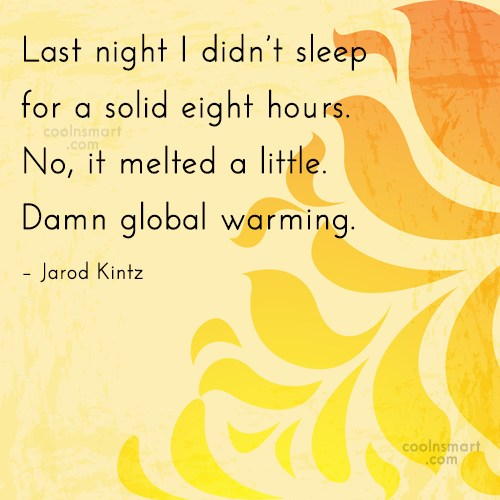 Quote: Last night I didn't sleep for a...