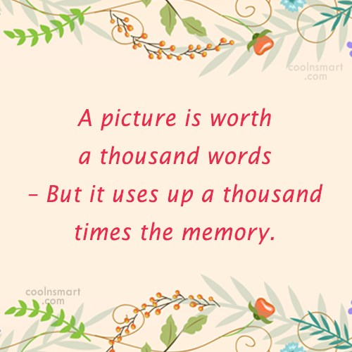 Quote: A picture is worth a thousand words...