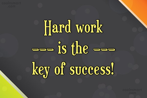 Hard Work Quotes And Sayings Images Pictures Page 60 CoolNSmart Best Quotes About Success And Hard Work