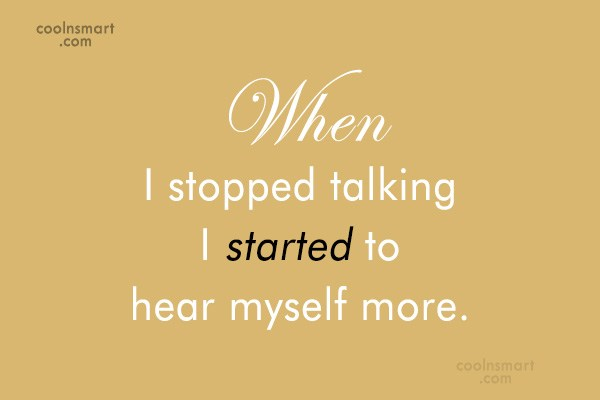Communication Quote: When people talk, listen completely. Most people...