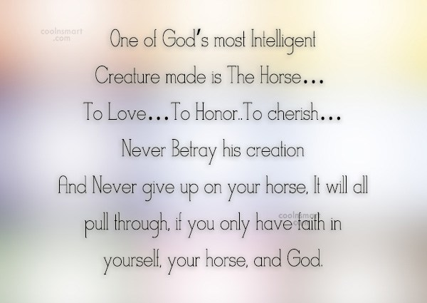 Quote: One of God's most Intelligent Creature made...