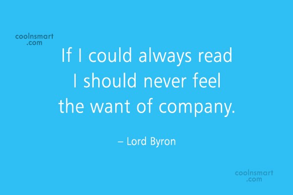 Quote: If I could always read I should...