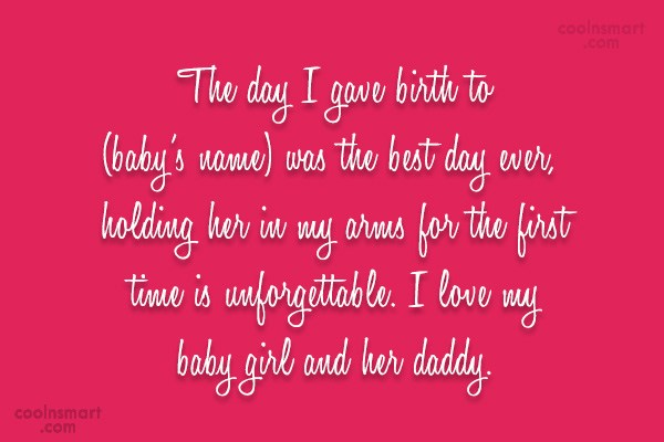Baby Quotes Newborn Quotation » ANNPortal