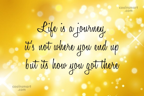 Life Journey Quotes Adorable Journey Quotes And Sayings Images Pictures CoolNSmart