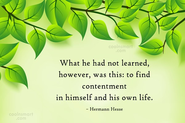 Quote: What he had not learned, however, was...