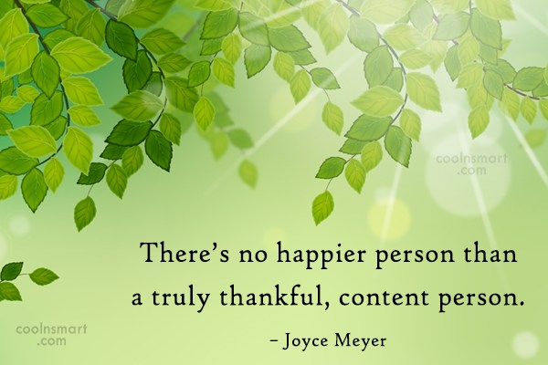 Quote: There's no happier person than a truly...