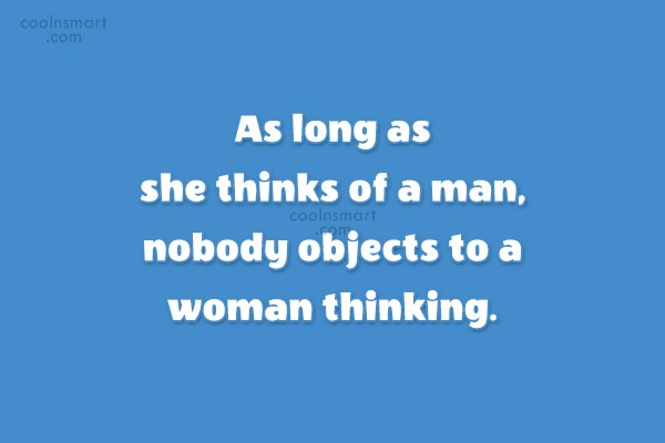 Images Quote: As long as she thinks of a...