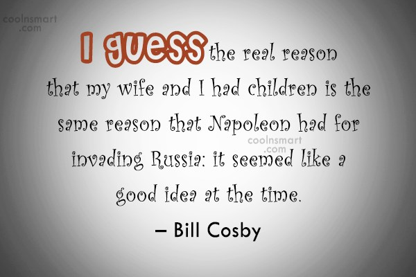 Quote: I guess the real reason that my...