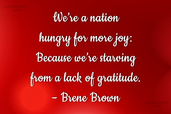 Images Quote: We're a nation hungry for more joy:...