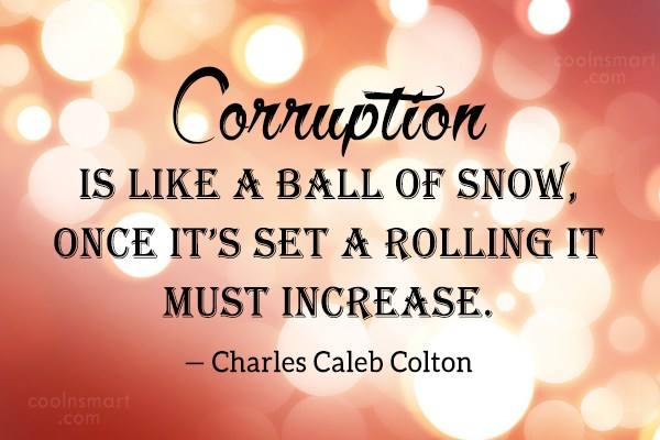 Corruption Quotes Images Pictures Coolnsmart