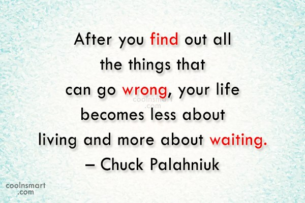 Quote: After you find out all the things...