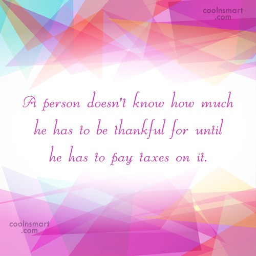 Quote: A person doesn't know how much he...