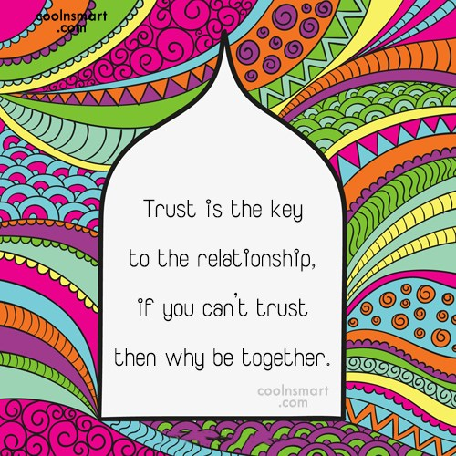 Trust Quote: I trusted you, but now your words...