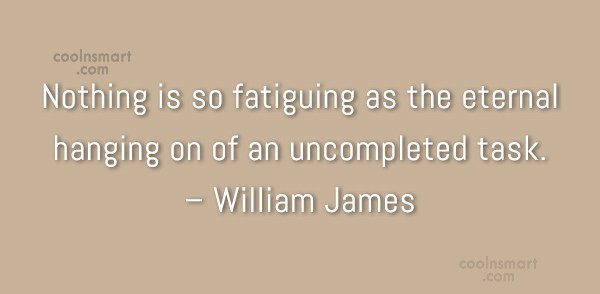 Quote: Nothing is so fatiguing as the eternal...
