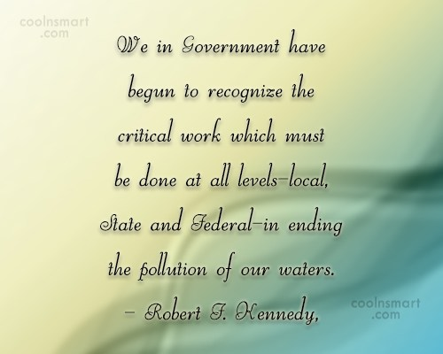 Government Quote: We in Government have begun to recognize...