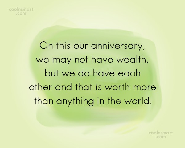 Anniversary Quote: On this our anniversary, we may not...