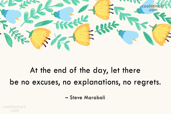 Quote: At the end of the day, let...