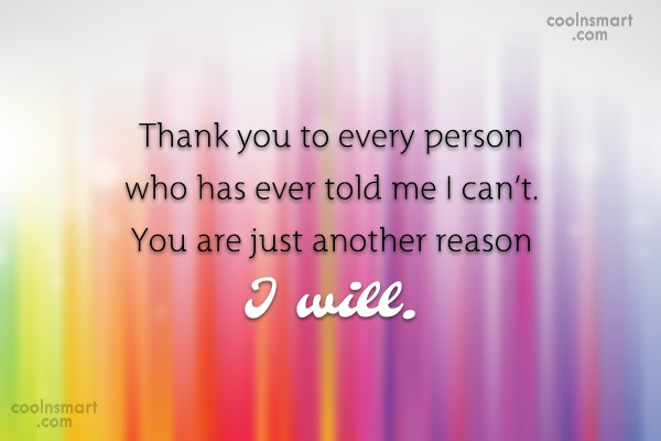 Images Quote: Thank you to every person who has...