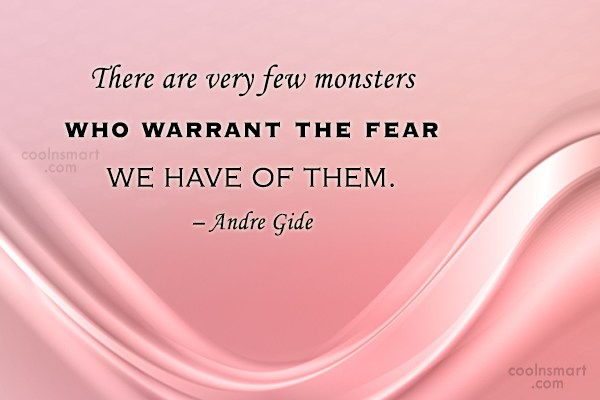 Quote: There are very few monsters who warrant...