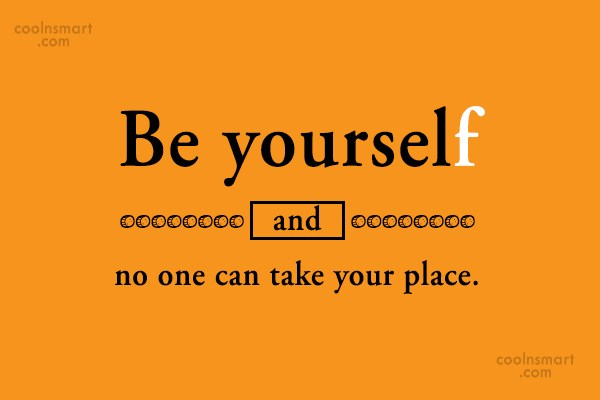 Being Yourself Quotes And Sayings Images Pictures Page 6