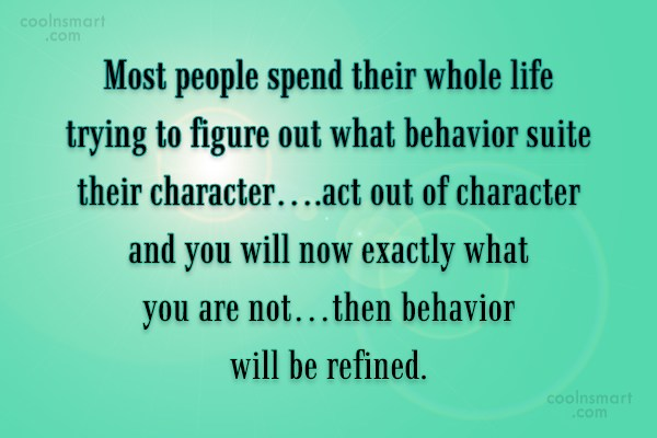 Quote: Most people spend their whole life trying...