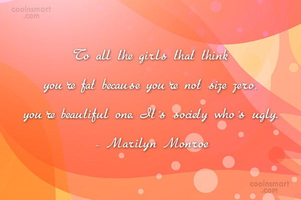 Women Quote: To all the girls that think you're...