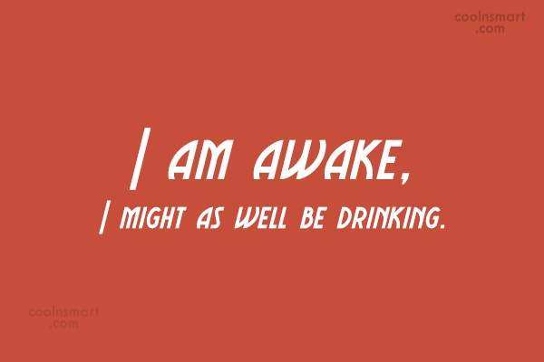 Quote: I am awake, I might as well...