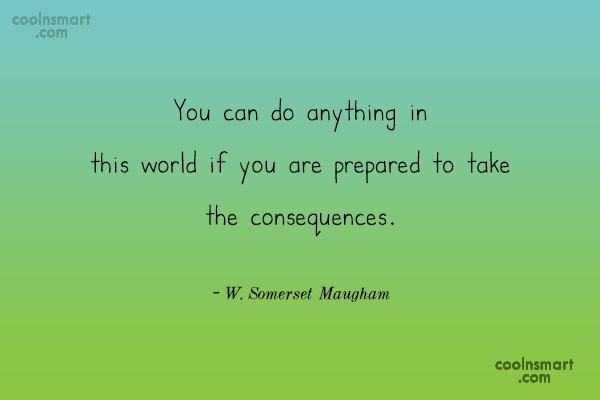 Quote: You can do anything in this world...