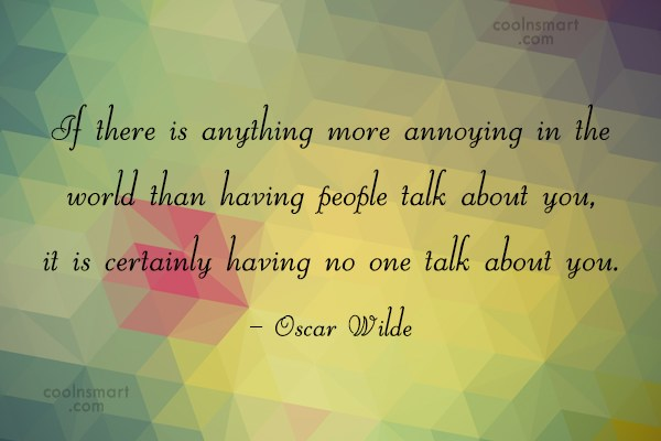 Quote: If there is anything more annoying in...