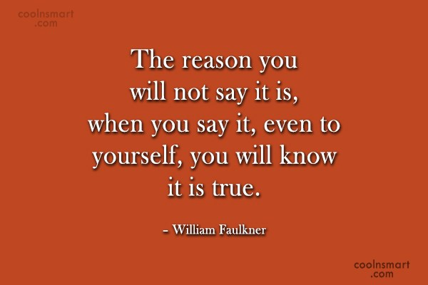 Quote: The reason you will not say it...