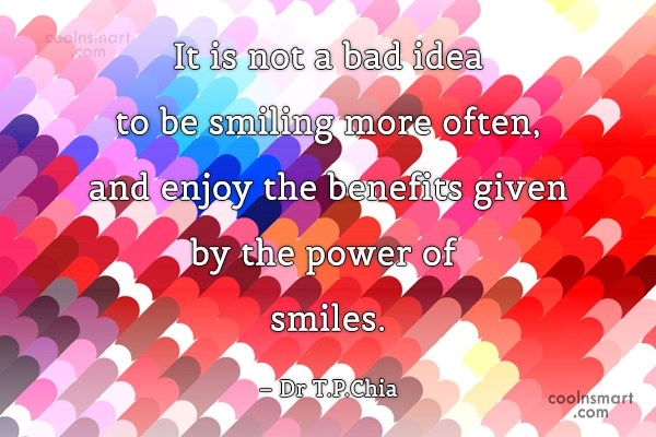 Quote: It is not a bad idea to...