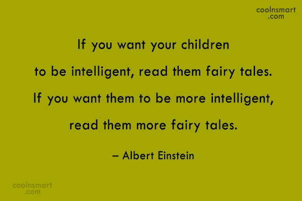 Quote: If you want your children to be...