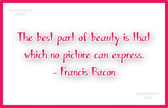 Quote: The best part of beauty is that...