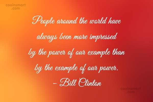 Quote: People around the world have always been...