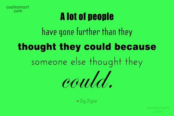 Quote: A lot of people have gone further...