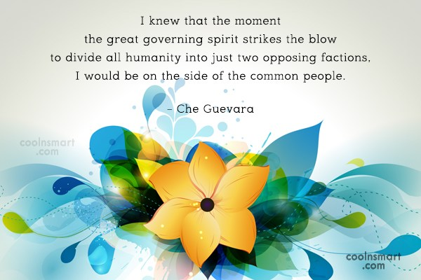 Quote: I knew that the moment the great...