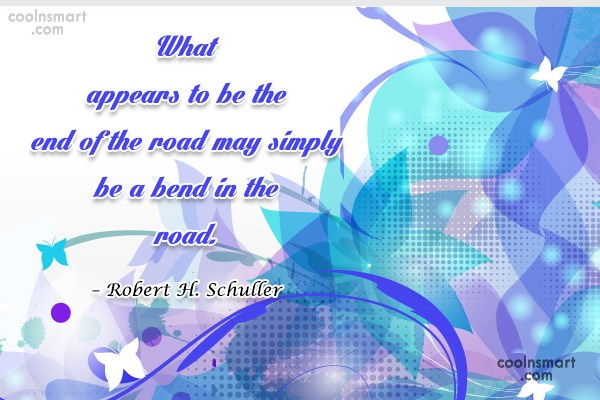 Quote: What appears to be the end of...