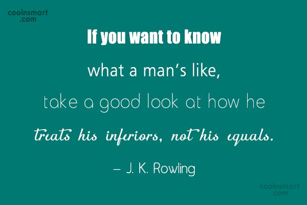 Quote: If you want to know what a...