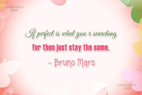 Quote: If perfect is what you r searching...