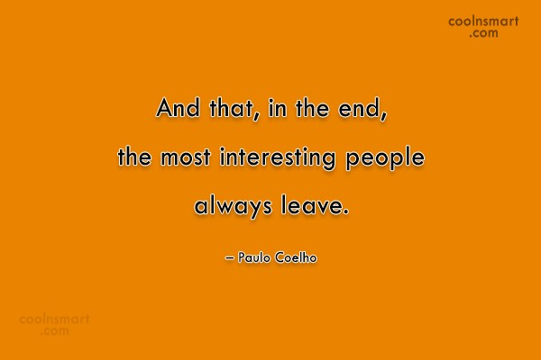 Quote: And that, in the end, the most...