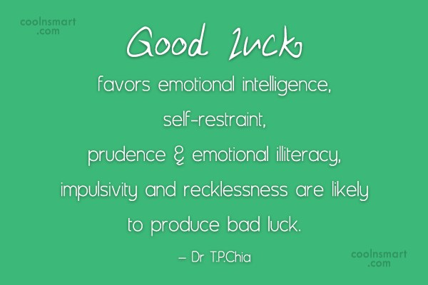 Good Luck Quotes Classy Luck Quotes And Sayings About Chance Images Pictures CoolNSmart