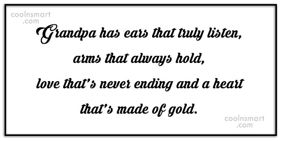 Grandfather Quotes, Sayings about Grandpa - Images, Pictures ...