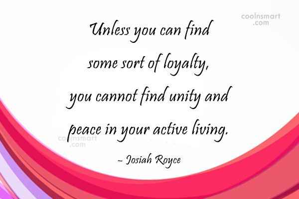 Peace Quote: Unless you can find some sort of...