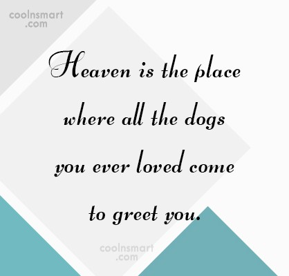 Heaven Quote: Heaven is the place where all the...