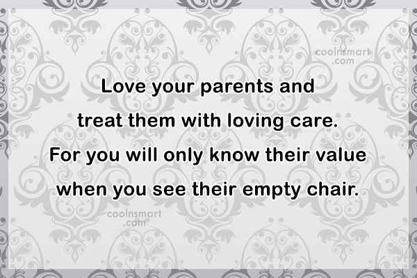 Parents Quotes and Sayings - Images, Pictures - CoolNSmart