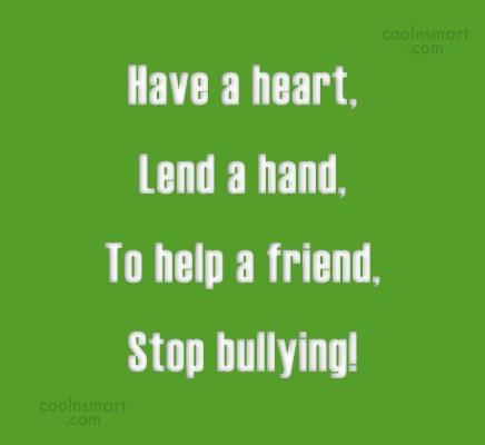 Bullying Quotes Sayings About Bullies Images Pictures CoolNSmart Stunning Stop Bullying Quotes